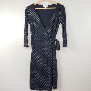 Ann Taylor LOFT | Polka Dot Wrap Dress